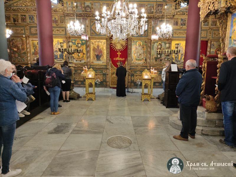 """Избори за църковно настоятелство при храм """"Св. Атанасий"""" 2021"""