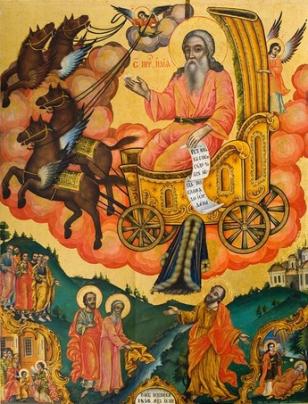 Икона на свети пророк Илия